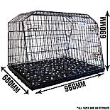 Pet World UK Estate 38L Car Dog Cage