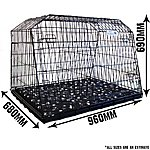 image of Pet World UK Estate 38L Car Dog Cage