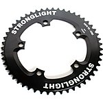 image of Stronglight 5-arm-130mm Track Chainring- Black 46t