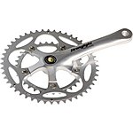 image of Stronglight Impact Compact Chainset- 34-50t X 175mm