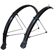 image of Stronglight Cross (e) 700c X 42mm Mudguard Set- Black