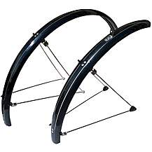 image of Stronglight Road (s) 700c X 48mm Mudguard Set- Black