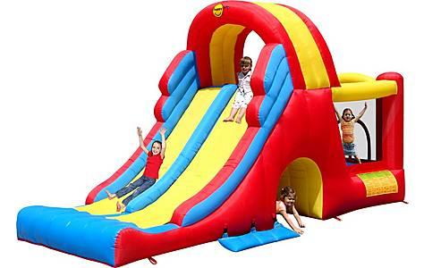 image of Kids Double Mega Slide Combo Bouncy Castle 9082n