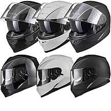 image of Black Titan Sv Solid Motorcycle Helmet