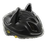 image of DC Comics 3D Batman Bat Ears Safety Helmet Kids Boys Quick Release Head Size 53-56cm