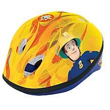 image of Fireman Sam Childs Boys Bike Safety Cycling Helmet 48 - 52 cm
