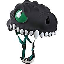 image of Crazy Safety Childrens Cycling Helmet  Black Dragon S-M 49-55cm