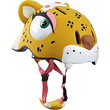 image of Crazy Safety Childrens Cycling Helmet Leopard S-M 49-55cm