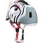 image of Crazy Safety Childrens Cycling Helmet Zebra S-M 49-55cm
