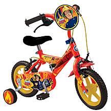 image of Fireman Sam Kids Childs Boys My First 12inch Bike