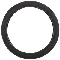 Halfords Plush Steering Wheel Cover - Black