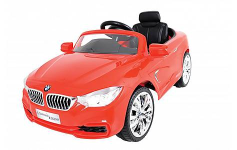 image of BMW EMOTO 6V Battery BMW 4 Series Ride On Kids Car Red