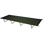 image of 4 Leg Folding Camp Bed Green