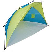image of Yellowstone 1 Man Beach Camping Shelter Tent Blue/lime