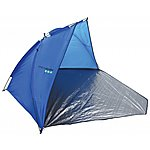 image of Yellowstone 1 Man Beach Camping Shelter Tent With Closure Blue