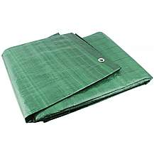 image of Yellowstone Ripstop Waterproof Groundsheet Green 8ft x 6ft