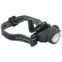 image of Yellowstone 8 + 2 Led Mini Head Torch