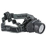 image of Yellowstone 19 Led Head Torch With Adjustable Head Strap
