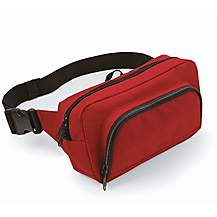 image of Bagbase 2.5L Organiser Waistpack Bag Red