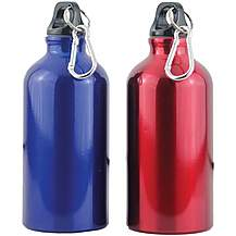 image of Yellowstone 500ml Drinks Bottle with Carabina - 2 Pack
