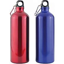 image of Yellowstone 1l Drinks Bottle With Carabina Blue And Red  2 Pack