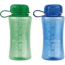 image of Yellowstone 500ml Drinks Bottle Blue & Green - 2 Pack