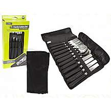 image of Summit 12 Piece Family Cutlery Set In Carry Pouch