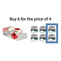 Coleman Multipack C500 Gas Cartridge 6 Pack