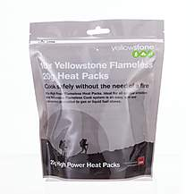 image of Yellowstone Flameless 20g High Power Heat Packs - 10 Pack