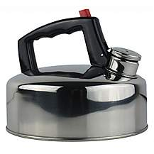 image of Yellowstone 2l Stainless Steel Whistling Kettle Silver
