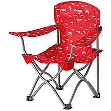 image of Vango Little Venice Folding Camping Chair  Red