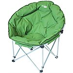 image of Yellowstone Deluxe Orbit Folding Camping Chair Green