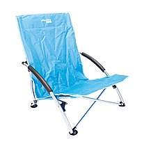 image of Yellowstone Low Profile Folding Camping Chair Blue