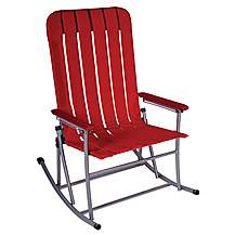 image of Yellowstone Outdoor Rocking Chair Red