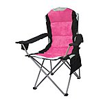 image of Yellowstone Mapleton Padded Camping Chair Cerise