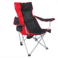 Yellowstone Mapleton Hi Back Reclining Chair Red