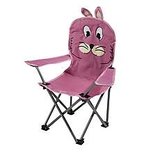 image of Regatta Kids Camping Chair Rabbit Pink