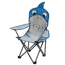 image of Regatta Kids Camping Chair Shark Blue