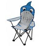 image of Regatta Kids Camping Chair Shark Blue