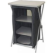 image of Yellowstone Quick Erect Storage Cupboard With 3 Shelves