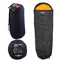 image of Milestone Single Mummy Festival Sleeping Bag 2 Season + Carry Bag