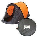 image of Milestone 2 Man Pop-up Tent Orange
