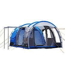 image of Regatta 4 Man Vanern Outdoor Family Tunnel Tent Blue