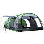 image of Regatta 6 Man Vanern Outdoor Family Tunell Tent Green