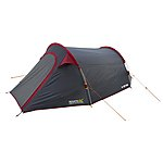 image of Regatta 3 Man Halin Backpacking Tent Red