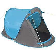 Yellowstone 2 Man Camping Fast Pitch Tent 2 S...