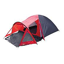 image of Yellowstone 4 Man Peak Dome Tent with Porch Red