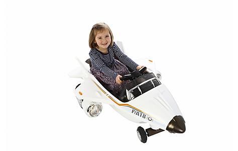 image of Ride On Plane 6v Twin Motors White
