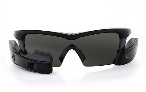 image of Recon Jet GPS Sunglasses Black
