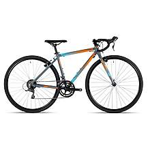 image of Cuda CP700R 700C Unisex Junior Road/CX Bike Orange/Blue
